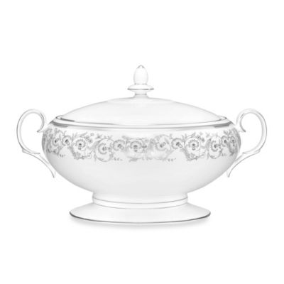 Noritake® Summit Platinum 70-Ounce Covered Vegetable Server