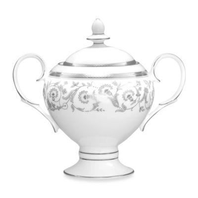 Noritake® Summit Platinum 9-Ounce Sugar Bowl with Cover