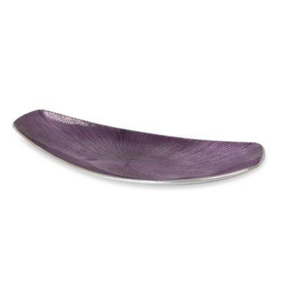 Simplydesignz Bodoni 16-Inch Tray in Lavender
