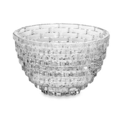 Mikasa Palazzo Crystal 9-Inch Glass Bowl