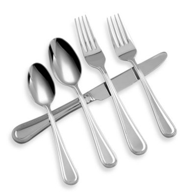 Michael Lloyd Pearls 5-Piece Flatware Set