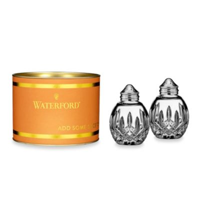 Waterford® Giftology Lismore Round Salt & Pepper Shaker Set