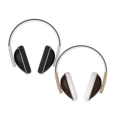 Polk Buckle Over-Ear Headphones in Brown