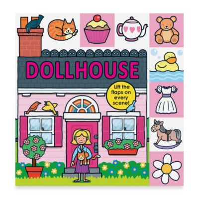 Lift-the-Flap Tab Board Book: Dollhouse