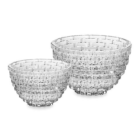 Mikasa Palazzo Crystal Glass Bowl Bed Bath amp Beyond