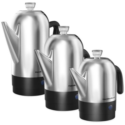 Hamilton Beach® Stainless Steel Percolators