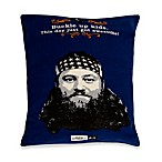 Duck Dynasty® Softies™ Willie Pillow Dog Bed