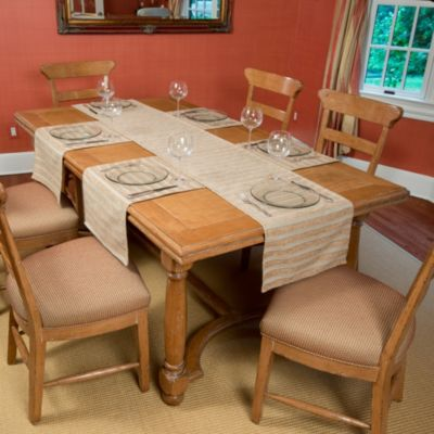 Tablemattes™ Belmont 5-Piece Large Runner Mat Set in Sand