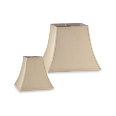 Mix and Match Square Bell-Shaped Lamp Shade in Ivory