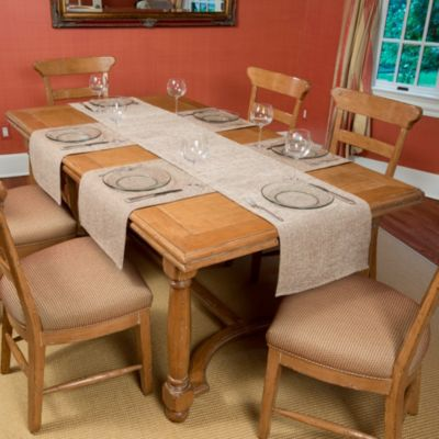 Tablemattes™ Preston 5-Piece Large Runner Mat Set in Sand
