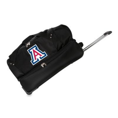 University of Arizona Wildcats 27-Inch Drop Bottom Rolling Duffel Bag