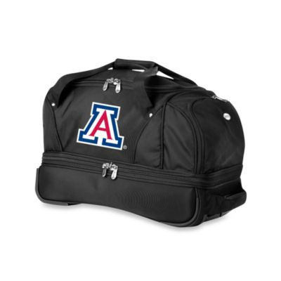 University of Arizona Wildcats 22-Inch Drop Bottom Wheeled Duffel Bag