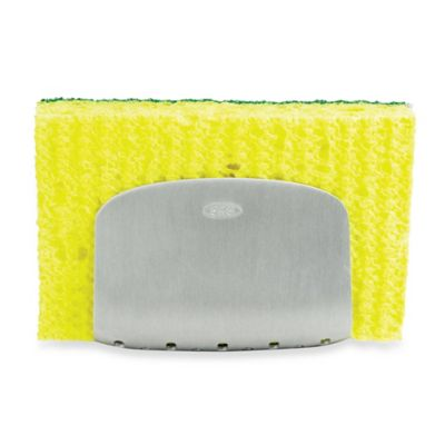 OXO SteeL® Suction Sponge Holder