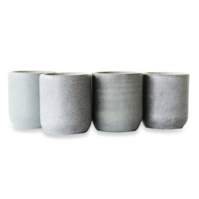 Freezable Soapstone Shot Glasses (Set of 4)