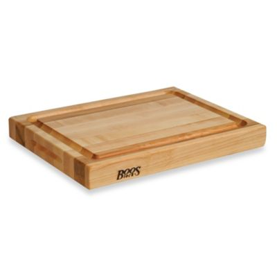 John Boos Reversible 20-Inch x 15-Inch Maple Cutting Board