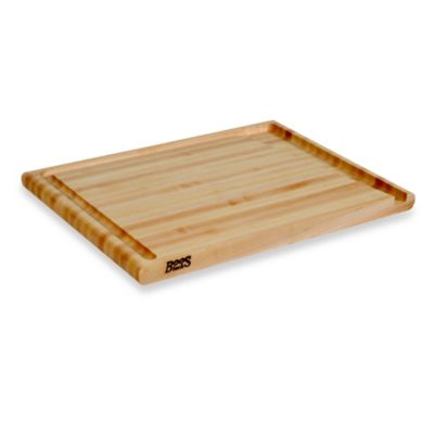 John Boos 20-Inch x 15-Inch Maple Board with Groove
