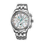 Citizen Ladies' Eco-Drive Silver-Tone Stainless Steel World Time A - T Watch