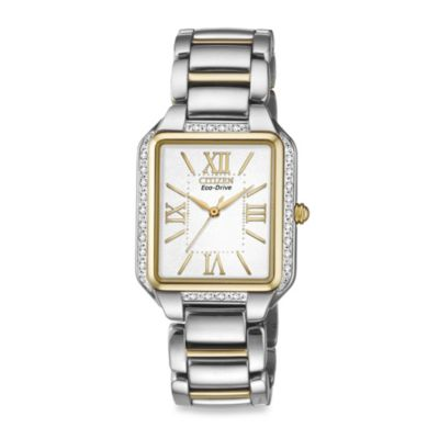 Citizen Ladies' Eco-Drive Stainless Steel Silvertone Ciena Watch