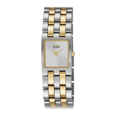 Citizen Ladies' Eco-Drive Two-Tone Stainless Steel Jolie Watch
