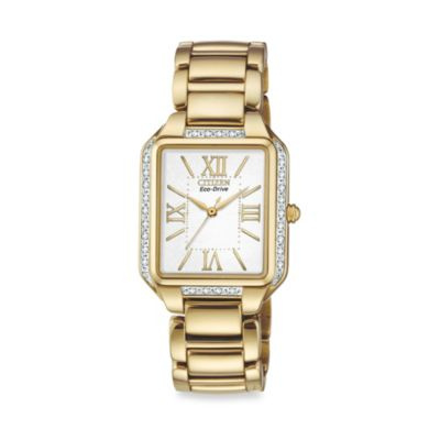 Citizen Ladies' Eco-Drive Stainless Steel Rose Goldtone Ciena Watch