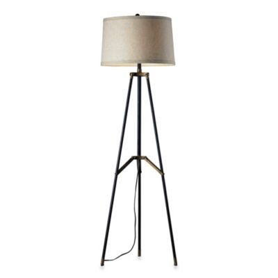 HGTV Home Community Tripod Floor Lamp
