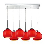 HGTV HOME Cassandra 6-Light Pendant