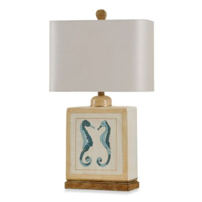 Coastal Sea Horses Table Lamp