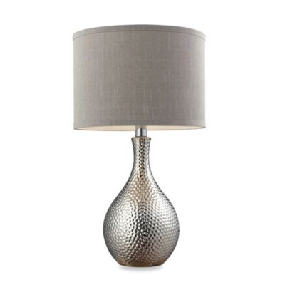 HGTV Home Overexposed Hammered Table Lamp