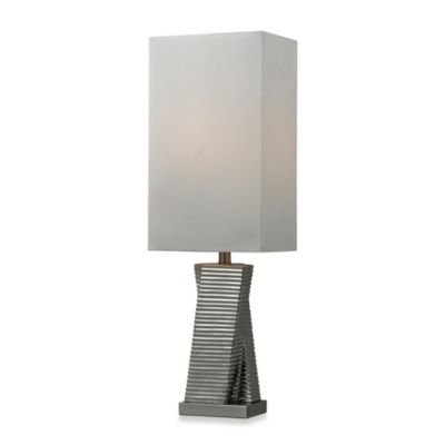 HGTV HOME Chrome Plated Table Lamp