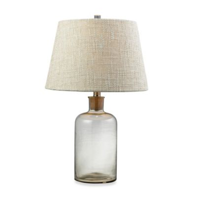 HGTV HOME 1-Light Table Lamp in Clear