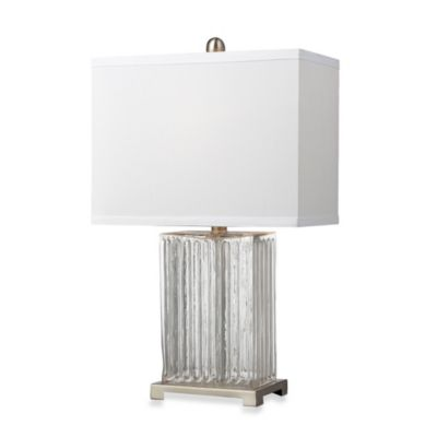 Clear Color Table Lamp