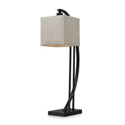HGTV HOME Table Lamp-1 in Madison Bronze
