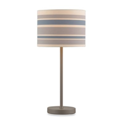 HGTV Home Voyage Striped Table Lamp