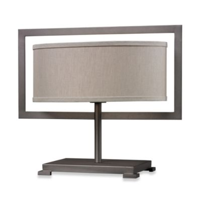HGTV Home Overexposed Metal Table Lamp