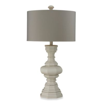 Cool Grey Table Lamp