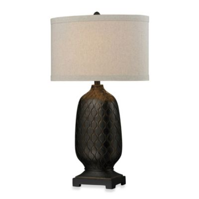 HGTV HOME Aria Bronze Table Lamp