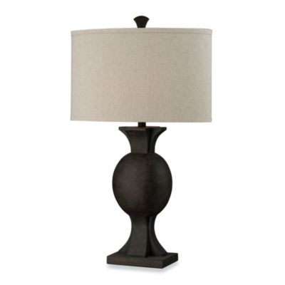 HGTV HOME Burnished Bronze Table Lamp