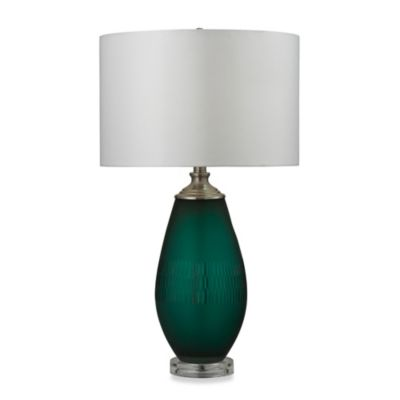 HGTV HOME Voyage Table Lamp in Jade Green