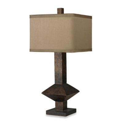 HGTV Home Table Lamp in Burnished Bronze