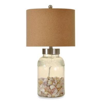 1-Light Coastal Collectors Lamp