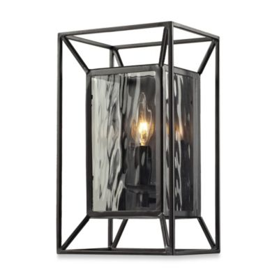 HGTV HOME Cubix 1-Light Wall Scone