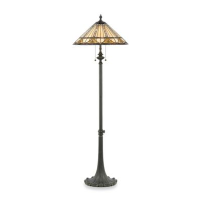 Quoizel® Genevieve Tiffany Floor Lamp