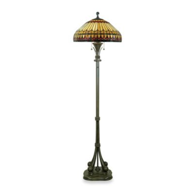 Quoizel® West End Tiffany Floor Lamp