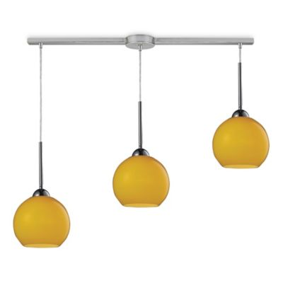 HGTV Home Cassandra 3-Light Pendant Light in Polished Chrome