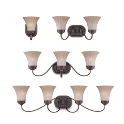 Quoizel 4 Light Bronze Light Fixture
