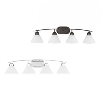 Quoizel® Demitri 4-Light Bath Fixture in Polished Chrome