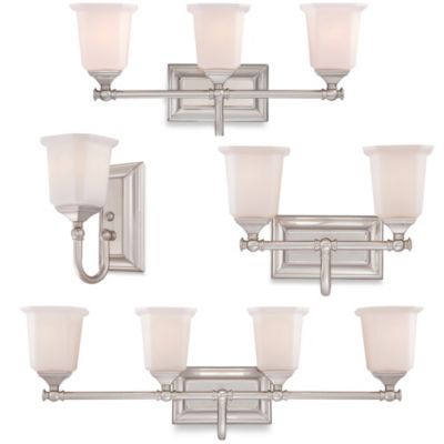 1 Light Bath Fixture