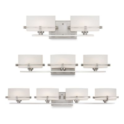 Brushed Nickel Wall Fixture