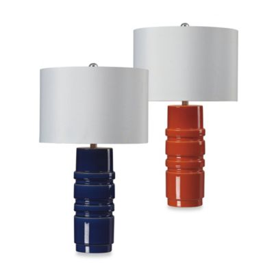 HGTV Home Graphic Control Ceramic Table Lamp