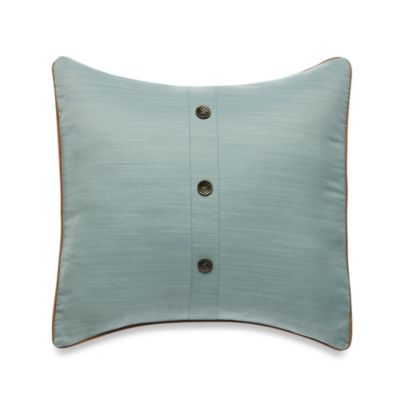 Nautica® Eden Glen 18-Inch Square Toss Pillow in Khaki